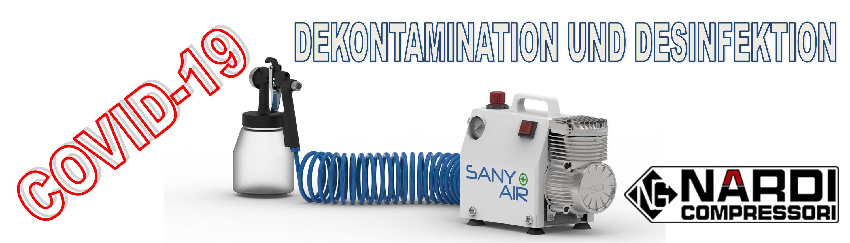Dekontamination und Desinfektion